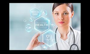 Small image display woman + health